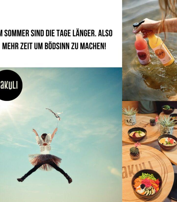 Eine lecker Smoothie Bowl, dazu eine erfrischende Limonade von @djahe_official . Die perfekte Voraussetzung für ein Sommerabenteuer. Wie genießt ihr einen Tag in der Sonne?